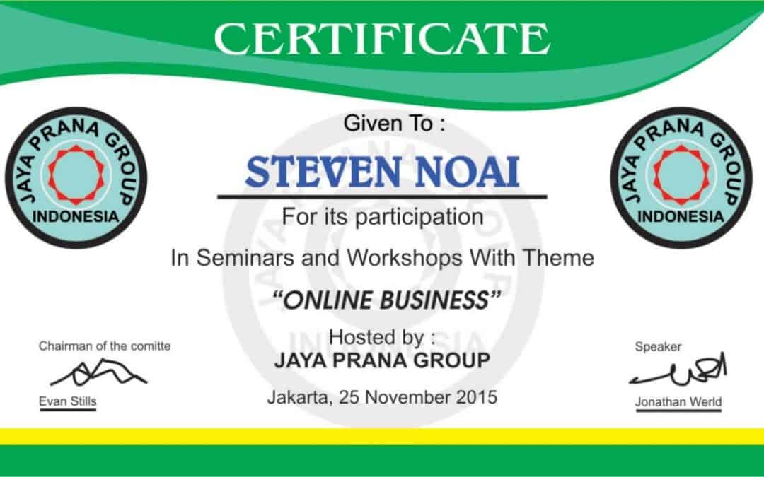 Corel draw Tutorial – Design Certificates (Seminars and Workshop Online Business)