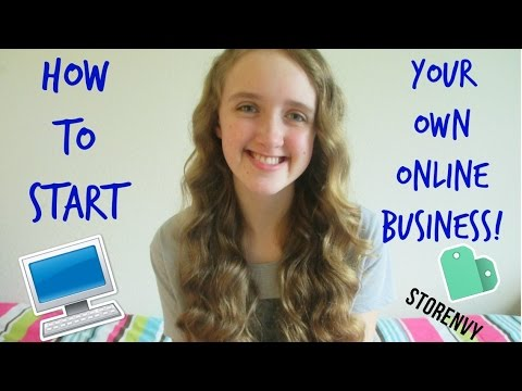 HOW TO START YOUR OWN ONLINE BUSINESS!