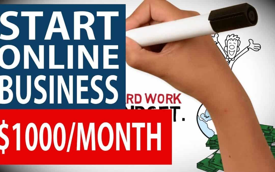 How To START an ONLINE SMALL BUSINESS – Earn $1000 MONTH