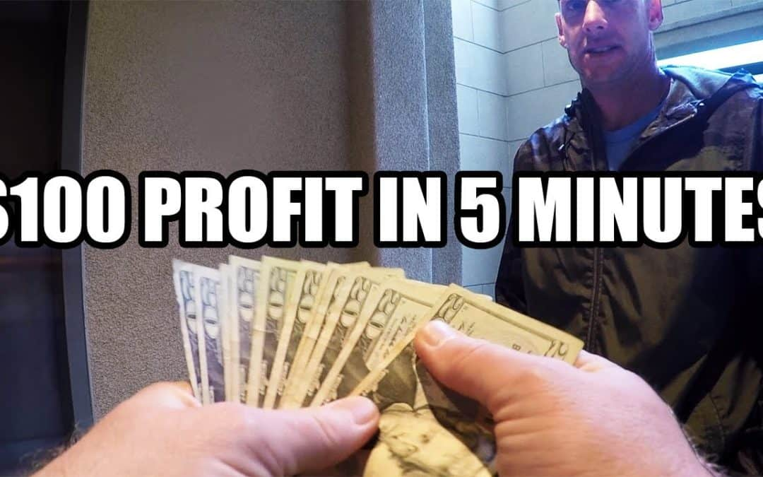 I Made $100 In 5 Minutes [EASY ONLINE BUSINESS 2019]