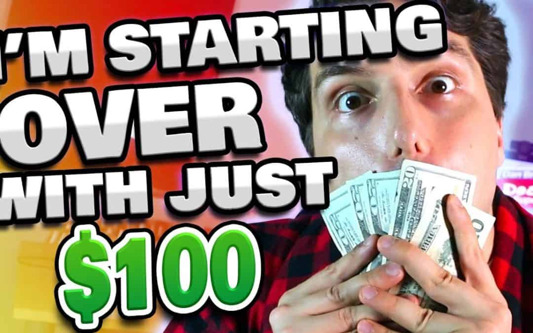 I'm Broke? Starting an Online Business w/ Just $100 In Bank.