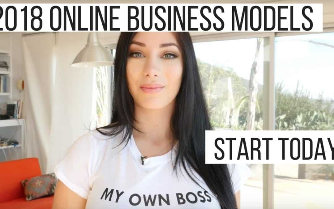 Online business Ideas for 2018 – Start TODAY!