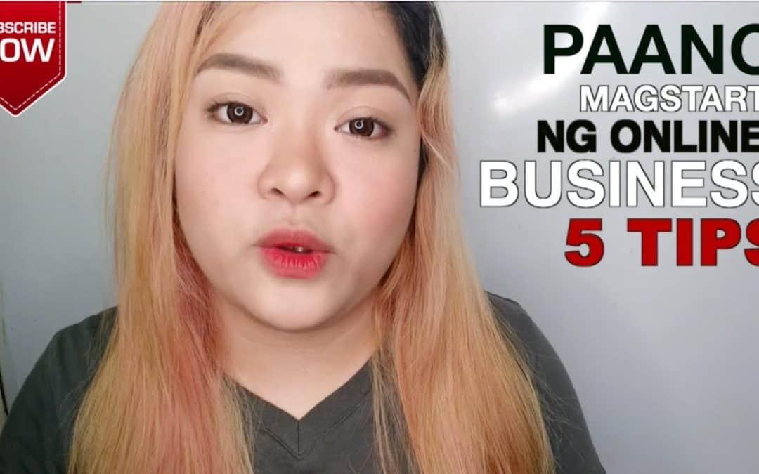 5 TIPS – STARTING A BUSINESS ONLINE | Vanessa Tinitigan | thepurpektionshop