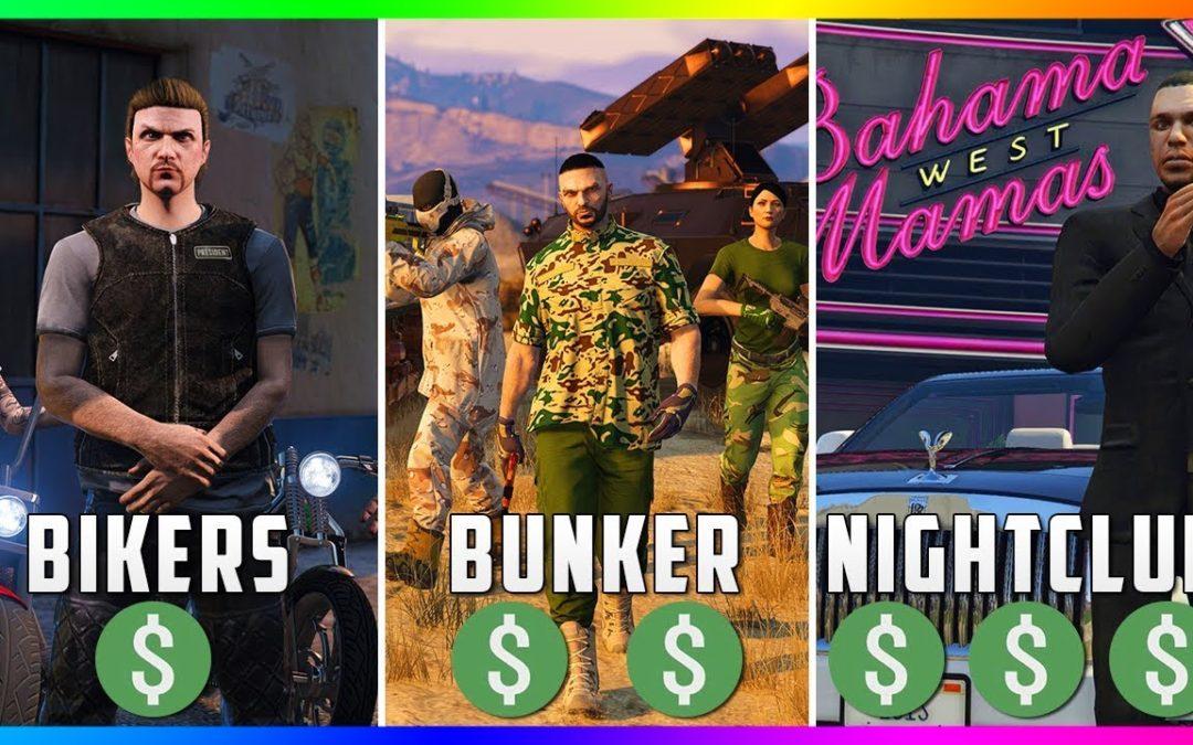 GTA 5 Online: The BEST Business To Buy, Own & Make Money – Nightclubs Vs Bunkers Vs Bikers! (GTA 5)