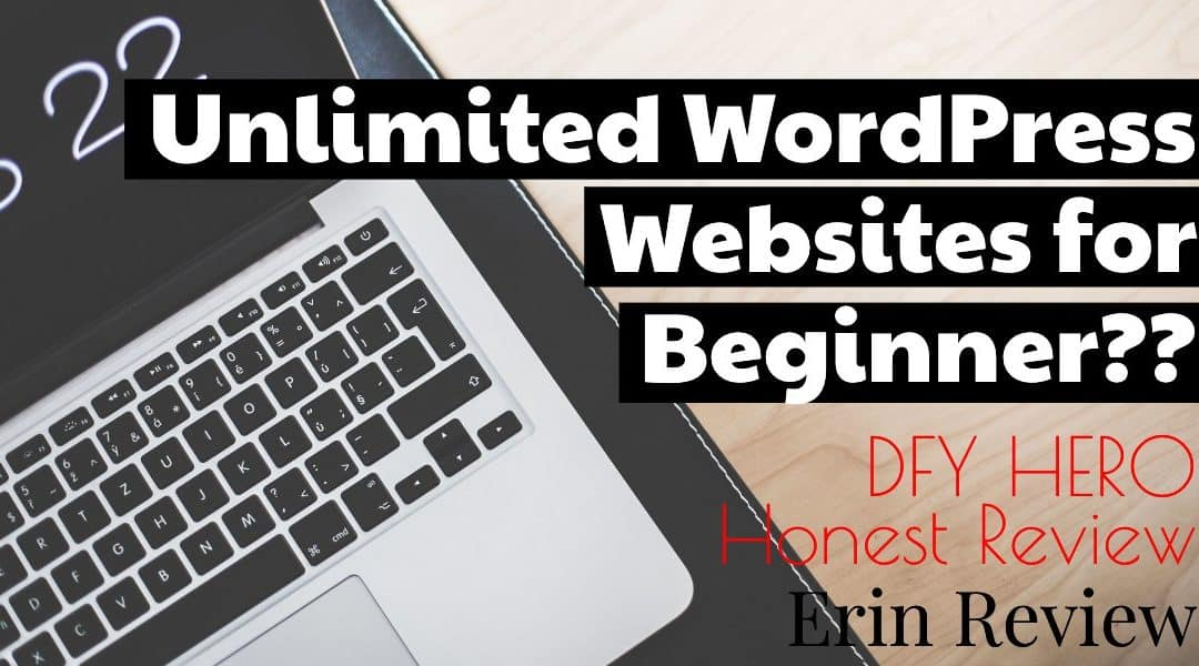DFY HERO Honest Review, Unlimited WordPress Websites for Beginner