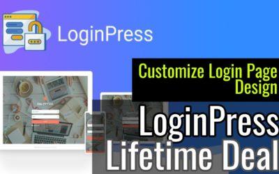 LoginPress Lifetime Discount