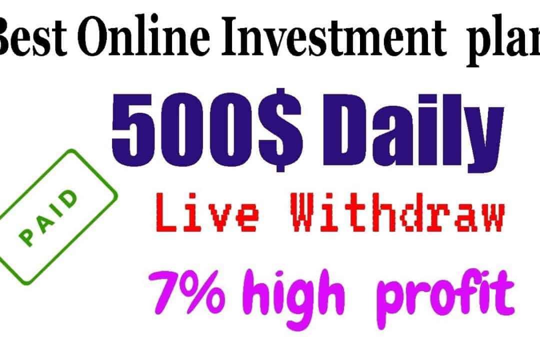 7% Daily | Live Withdraw | usdmining online investment business