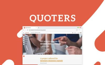 Creating stunning proposal and quote pages